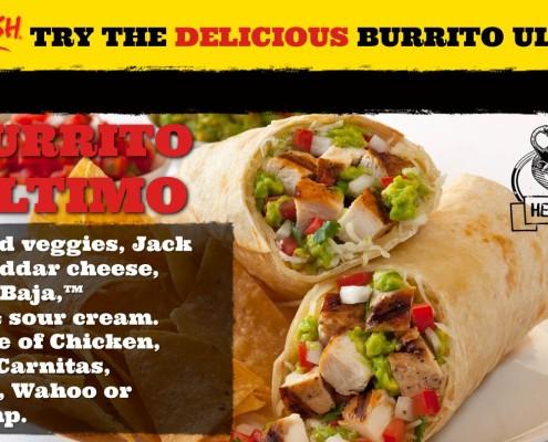 Restaurant Baja Fresh Digital Menu Signage (11)