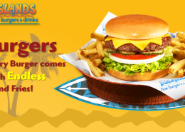 Islands Burger Restaurant Digital Signage Menu Eyeconic Total System Solution